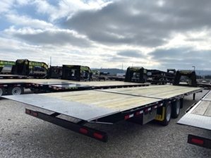 Air Ride Hydraulic Trailers