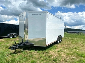 Enclosed Trailer Tandem Axle