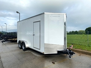 Enclosed Trailer V-Nose
